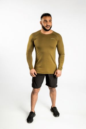 King Lifestyle Dark Green Lightweight Longsleeve