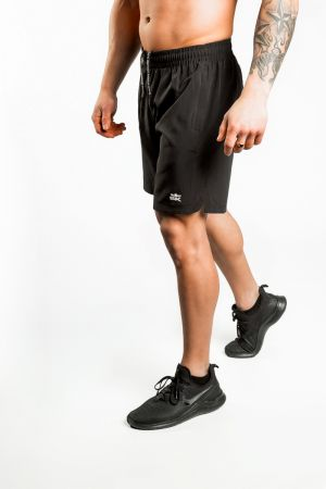 King Lifestyle Men's Black Athletic Short