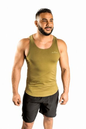 King Lifestyle Men's Military Green Tank