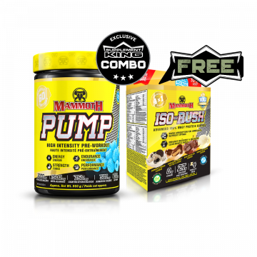 Mammoth Supplements Mammoth Pump 60 Servings