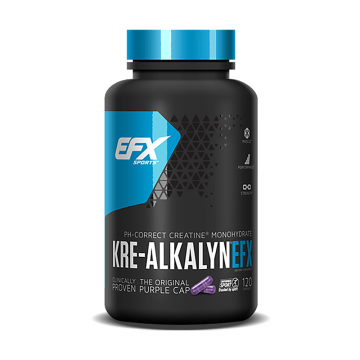 EFX Sports Kre-Alkalyn 120 Capsules