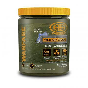 Advanced Genetics Warfare 40 Servings