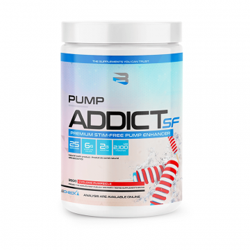 Believe Supplements Pump Addict Stim Free 20 Servings