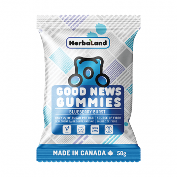 Herbaland Good News Gummies 12 Bags Per Box