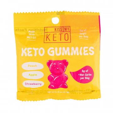Kiss My Keto Keto Gummies 22.5g Box of 12