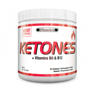 SD Pharmaceuticals Ketones + B6 & B12 60 Servings