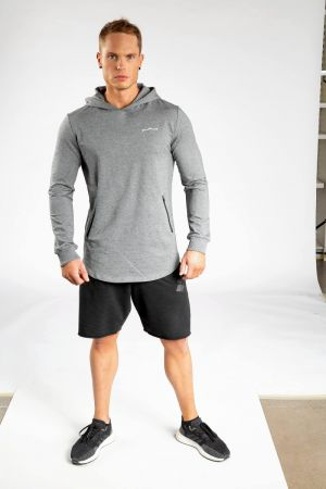 King Lifestyle Men's Muscle Hoody