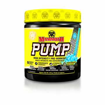 Mammoth Supplements Mammoth Pump 30 Servings