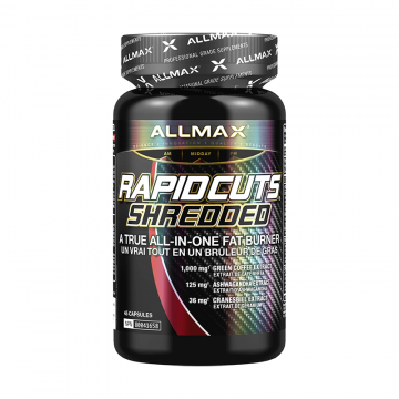 Allmax Nutrition Rapid Cuts Shredded 45 Capsules