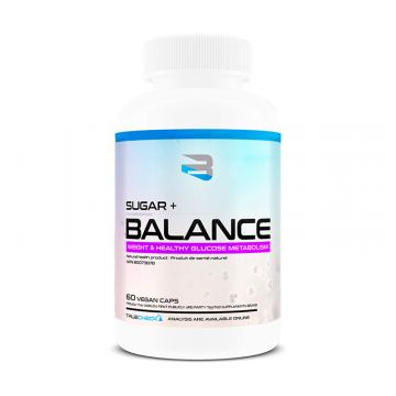 Believe Supplements Sugar + Balance 60 Capsules