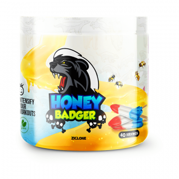 Yummy Sports Honey Badger 40 Servings