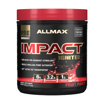 Allmax Nutrition Impact Igniter 20 Servings