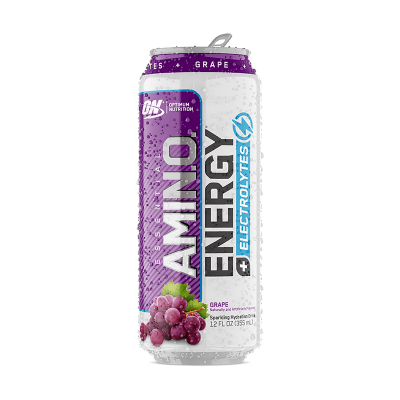 Optimum Nutrition Amino Energy + Electrolyes Sparkling Water Drink 355ml