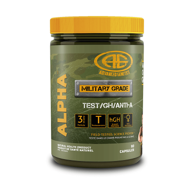 Advanced Genetics Alpha 90 Capsules