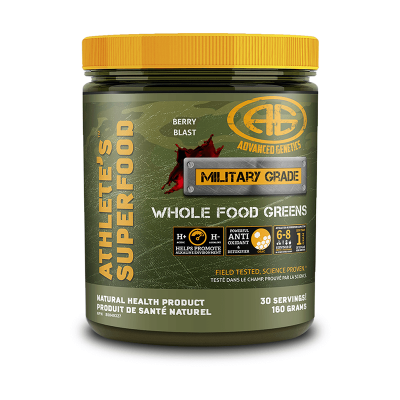 Advanced Genetics Athlete's Superfood 30 Servings Berry Blast