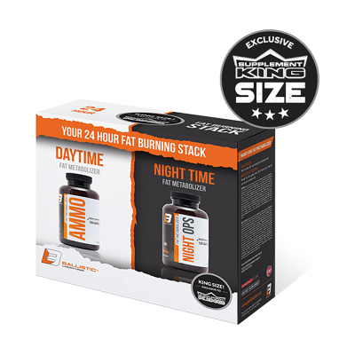 Ballistic Labs Exclusive 24 Hour Fat Burning Kit - Ammo + Night Ops
