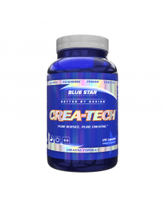 Blue Star Nutraceuticals Crea-Tech 120 Capsules
