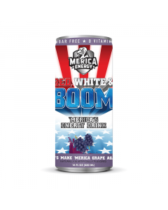Merica Labs Merica Energy Red, White & Boom 480ml