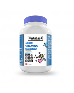 Herbaland Multi Vitamin Gummies for Adults 90 Count