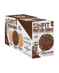 Sinister Labs Sinfit Protein Cookies 10/Box